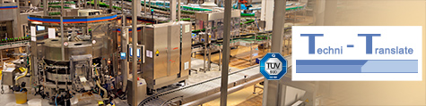 Übersetzungsbüro für Anlagenbau und Maschinenbau-Dokumentation. QM-System nach ISO 9001:2015.