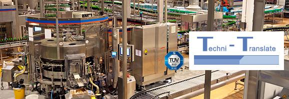 Übersetzungsbüro für die technische Übersetzung von Anlagenbau und Maschinenbau-Dokumentationen. QM-System nach ISO 9001.