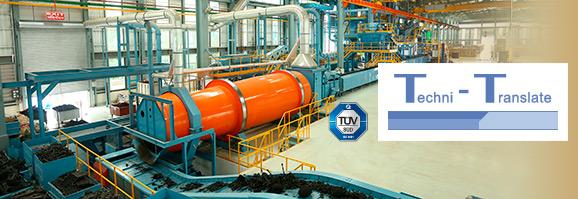 Fachübersetzungen technischer Texte für den Anlagenbau und Maschinenbau. Überzeugende Referenzen für viele Industriebranchen!